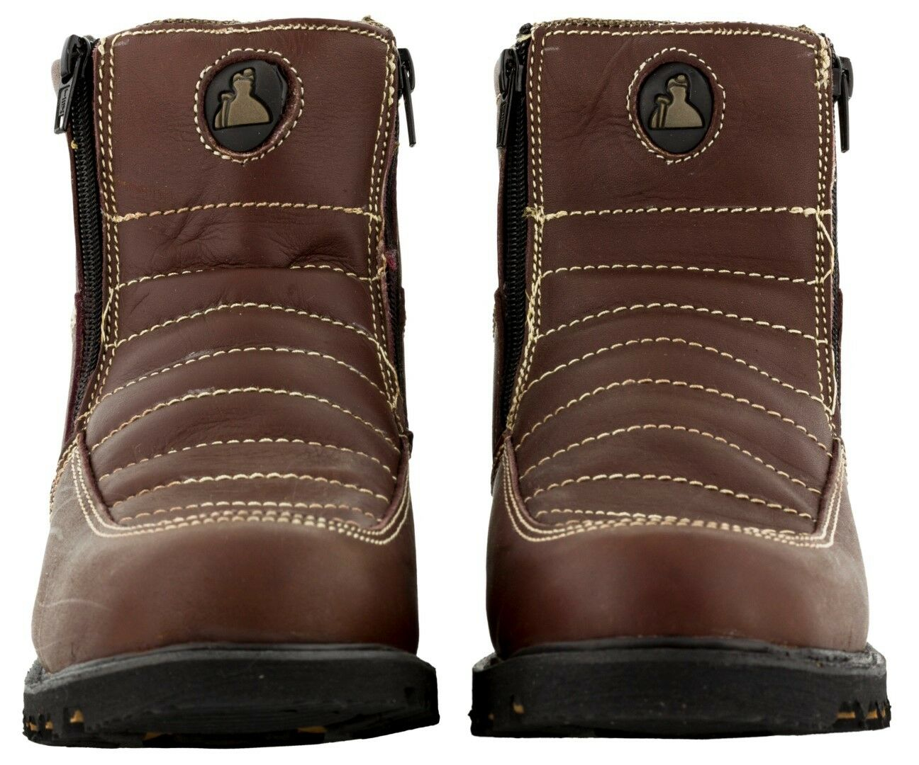Work Uomo Strong Tough Durable Work  Construction Stiefel Schuhes Non Slip Sole Burgundy fc46e1
