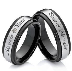 Partnerringe wolfram  Eheringe Verlobungsringe Partnerringe aus Wolfram mit Ringe ...