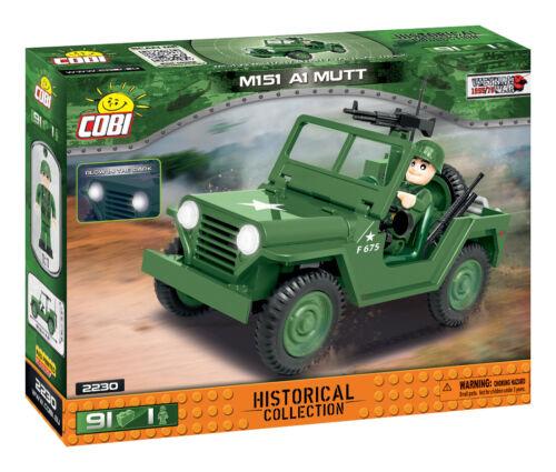 Neu Vietnam War Small Army Cobi 2230 Truck M151 A1 Mutt