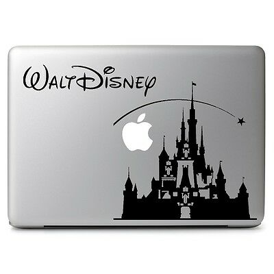 Disney Castle Decal Sticker for Apple Macbook Air/Pro Laptop Dell Hp Notebook