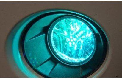 880 881 RGB COLOR CHANGING HEADLIGHT FOG LIGHT WIFI PHONE APP CONTROLLER