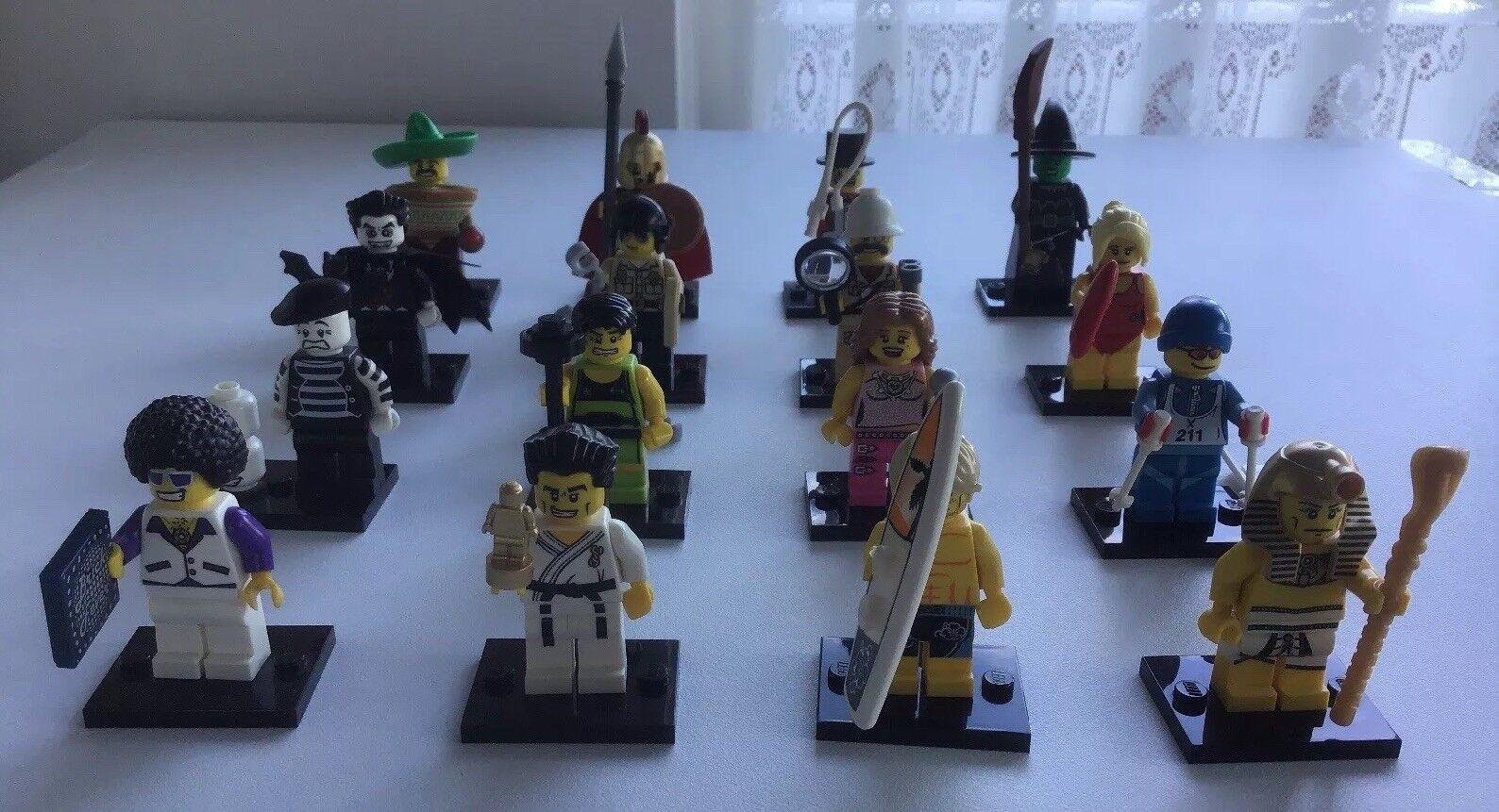 Lego minifigures serie 2 Set 8684 completa 16 Minifiguras desde 2010