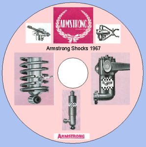 ARMSTRONG SHOCK ABSORBERS CATALOGUE 1967