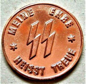 WW2-GERMAN-COLLECTORS-COMMEMORATIVE-COIN-S-S-1-SCHILLING-KANTINEGELD
