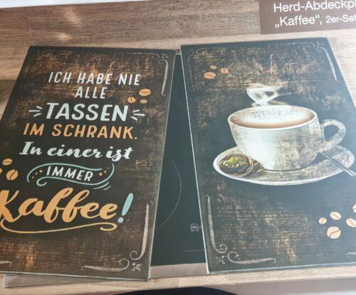 Abdeckplatten   Herdabdeckplatten Glaskeramik-Kochfeld  Kaffee