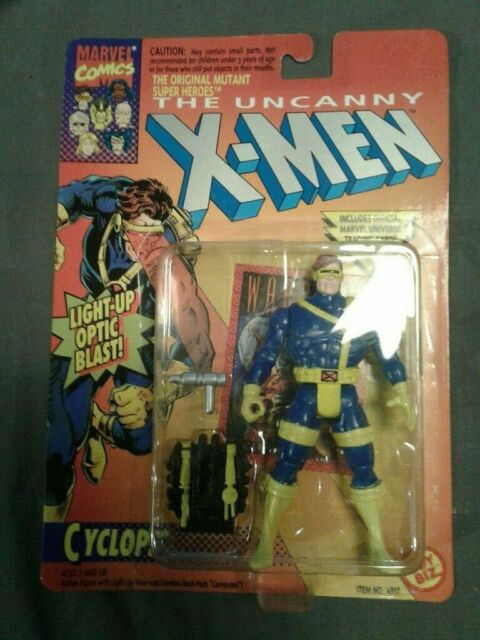 Marvel comics Uncanny X-men Cyclops Action figure Toy Biz 1993  sealed NO 4917