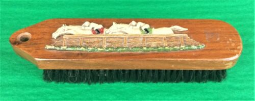 """Fab Bakelite Steeplechase Brush"""