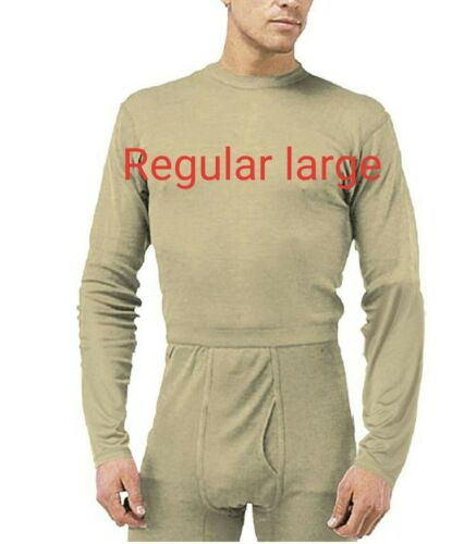 Set top bottom Military Gen III Power Dry Undershirt ECWCS L1 Silk Weight Base