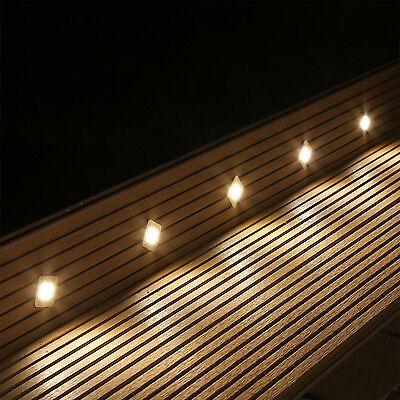 10er Set Del Terrasses Eclairage Sol Installation Projecteur