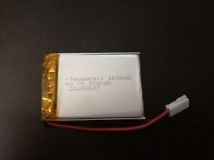 Batterie Lipo 500 Mah 3.7 V Connecteur Walkera Pcb-afficher Le Titre D'origine Bon Pour L'éNergie Et La Rate