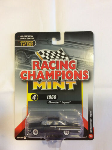 Racing Champions Mint RC008  Version A 1960 Chevrolet Impala