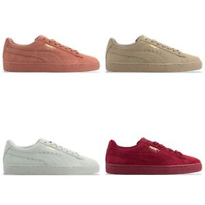 buy online 25791 1f13c Details about PUMA SUEDE CLASSIC TONAL TRAINERS - PUMA SUEDE 362595 -  RED/CLAY/PEBBLE/FLOWER