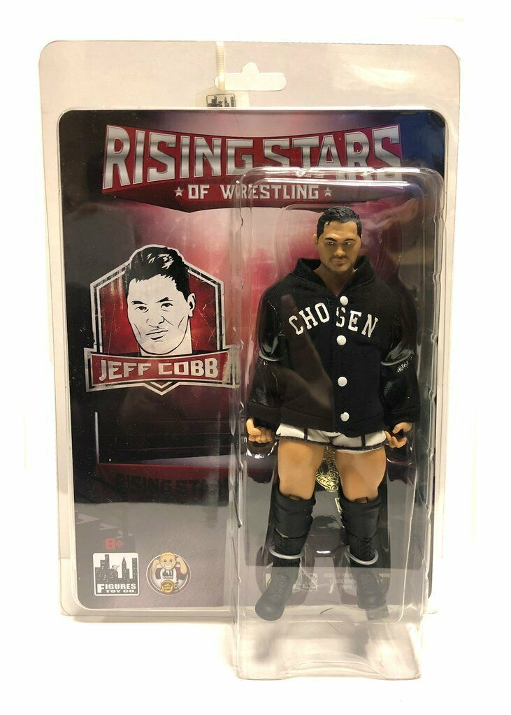 Official Rising Sterns of Wrestling -  Jeff Cobb Wirkung Figure
