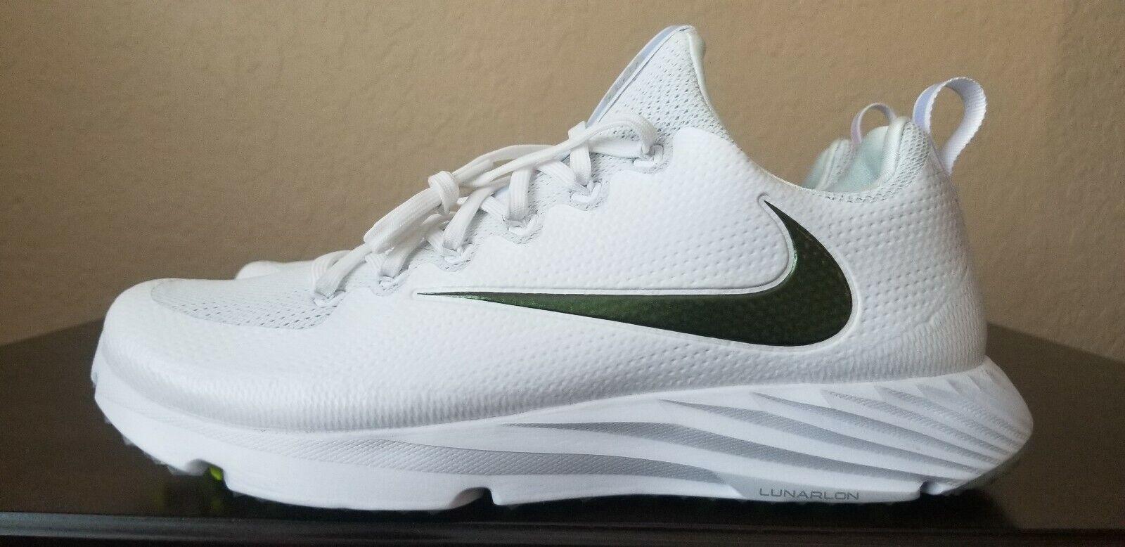 Nike Vapor Untouchable Speed Turf Football Trainer shoes 833408-112 Men's Sz 11