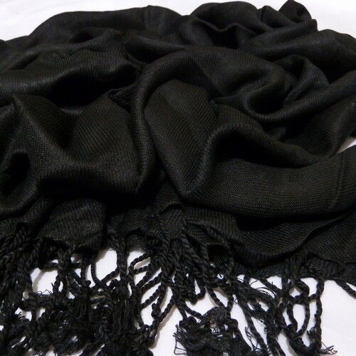 PaSmna High quality plain pashmina scarf shawl stole wrap 100/% viscose