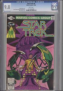 Star-Trek-8-CGC-9-8-1981-Marvel-Comic-featuring-Spock-Cover-Price-Drop