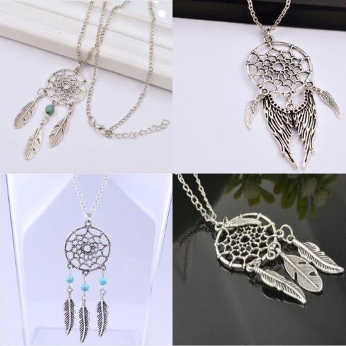 Fantasy Retro Dream Catcher Pendant  Special Design Chain Necklace