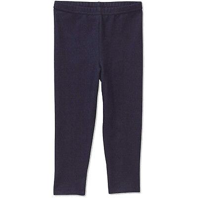 Baby Toddler Girls Leggings Stretchy Denim Knit Pull-on Dark Blue 2T 3T 4T