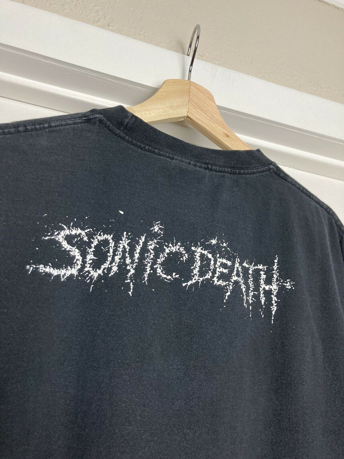 Vintage 90s Sonic Youth Confusion Is Sex T Shirt … - image 8