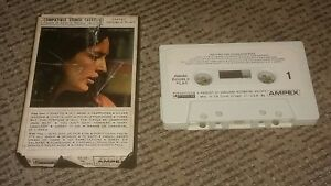 JOAN BAEZ tape w PAPER LABEL Cassette THE FIRST TEN 10 YEARS Ampex Vanguard HITS