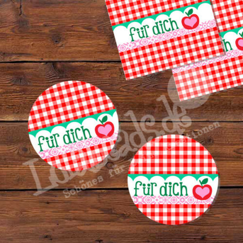 100-50-20-10 Autocollant Sticker label étiquette pour toi 30 mm environ-p00st0017