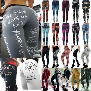Senora-yoga-Gym-fitness-pantalones-tight-leggings-elasticos-pantalones-deportivos-pantalones-de