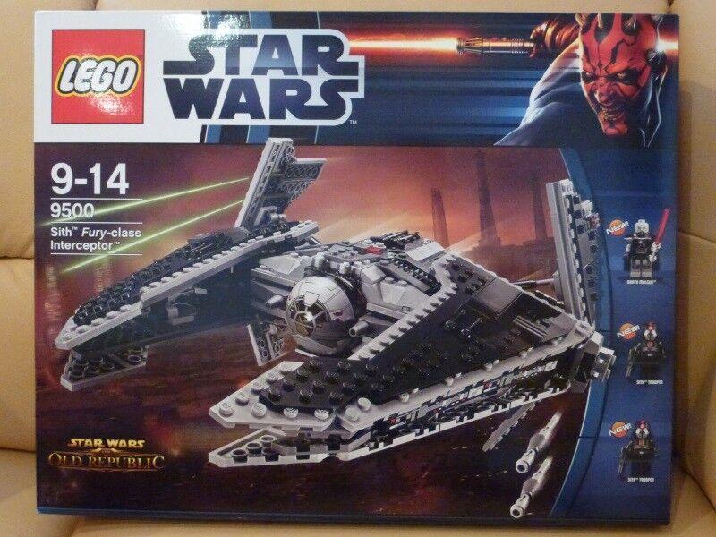LEGO StarWars 9500 - Sith Fury-class Interceptor - neu und ungeöffnet - NISB