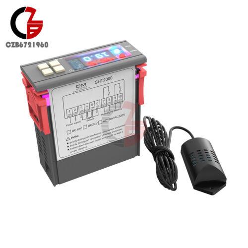 SHT2000 AC110-230V//DC12-72V 10A Temperature  Hygrometer Thermostat Controller