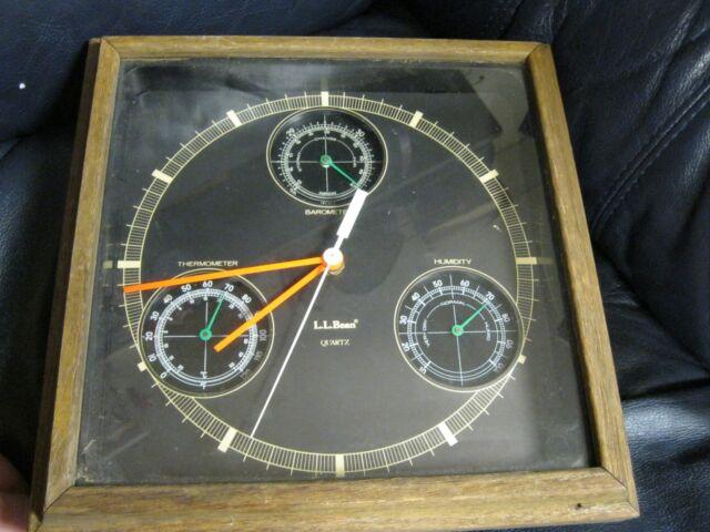Weather Station Sunbeam Clock Barometer