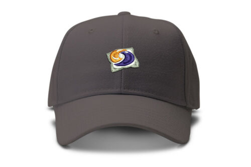 Tide pod Forbidden Fruit Hat slide buckle low profile dad hat trendy dark humor