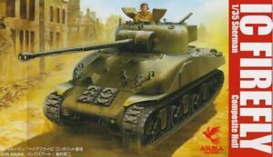 Coque composite de Sherman Firefly Ic (Armée canadienne, Mkgs Europe 1945) # 35044 Asuka 4571229090449