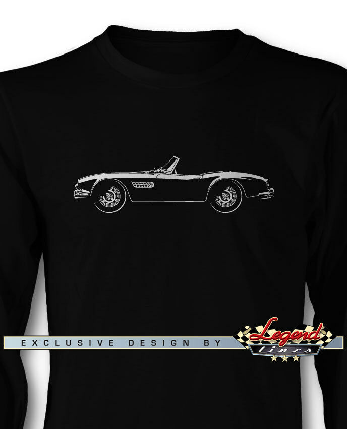 BMW 507 Roadster Long Sleeves T-Shirt - Multiple colors and Sizes - German Car