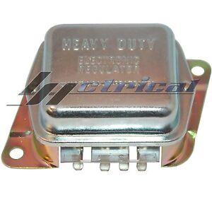 Image Is Loading Alternator External Hd Voltage Regulator Fits Ford Early