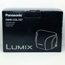 *GENUIN*Panasonic DMW-CGL1ST Leather case( Beige color)For GF1+20mm F1.7 KIT