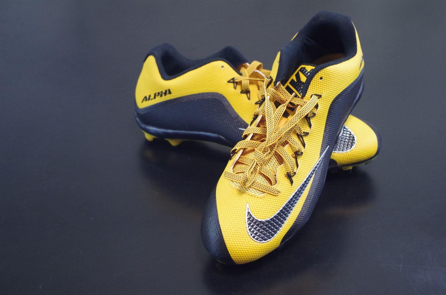 New Nike Alpha Pro 2 TD PF Football Molded Cleats shoes 729445-725 Sz 15