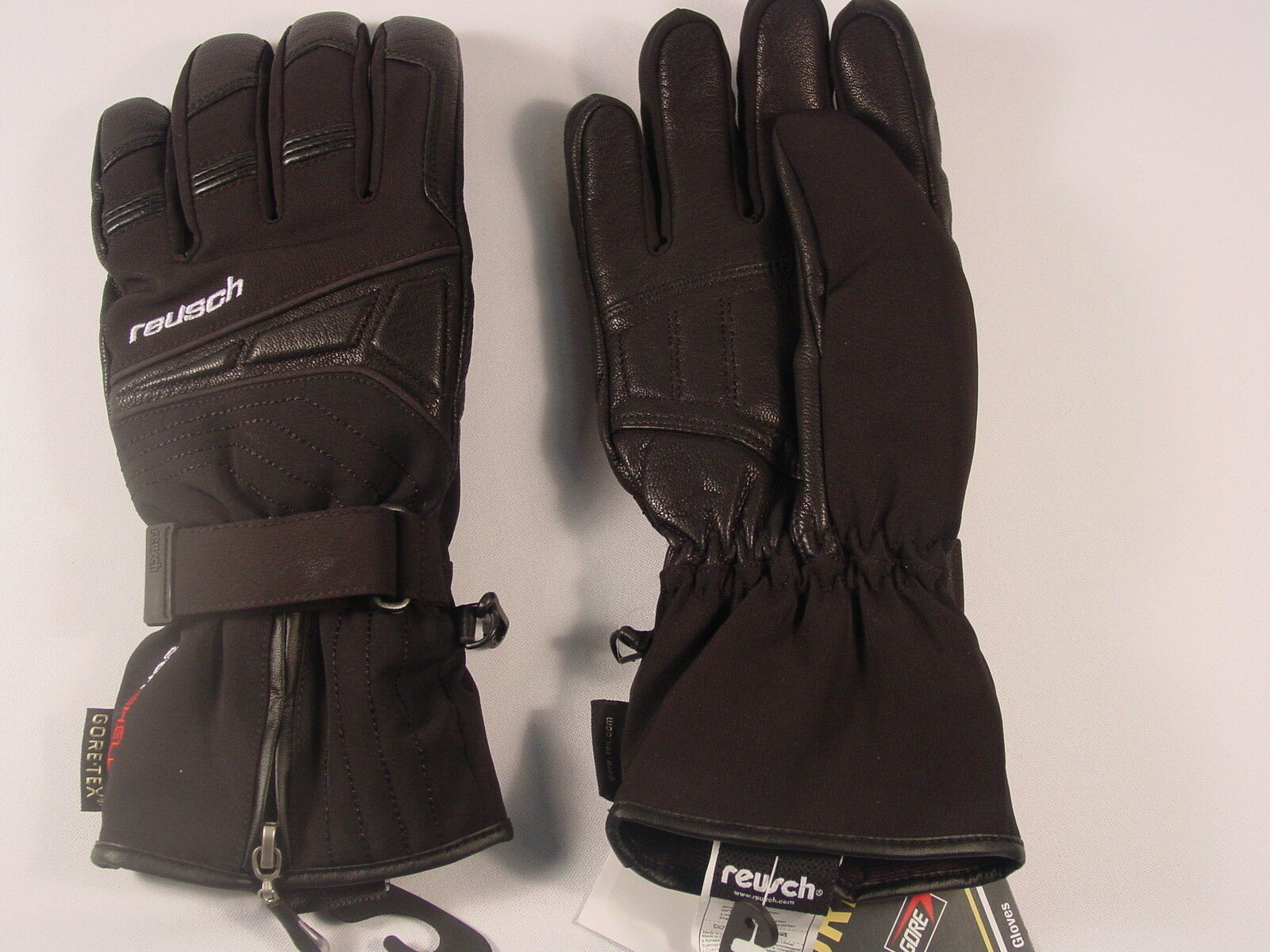 New Reusch Modus Gore Gore Modus Tex Ski Leder & Softshell Gloves Medium (8.5)  4001381 e10f45