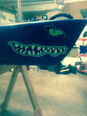 Kayak / Canoe River Monster Color Decals 7 Colors