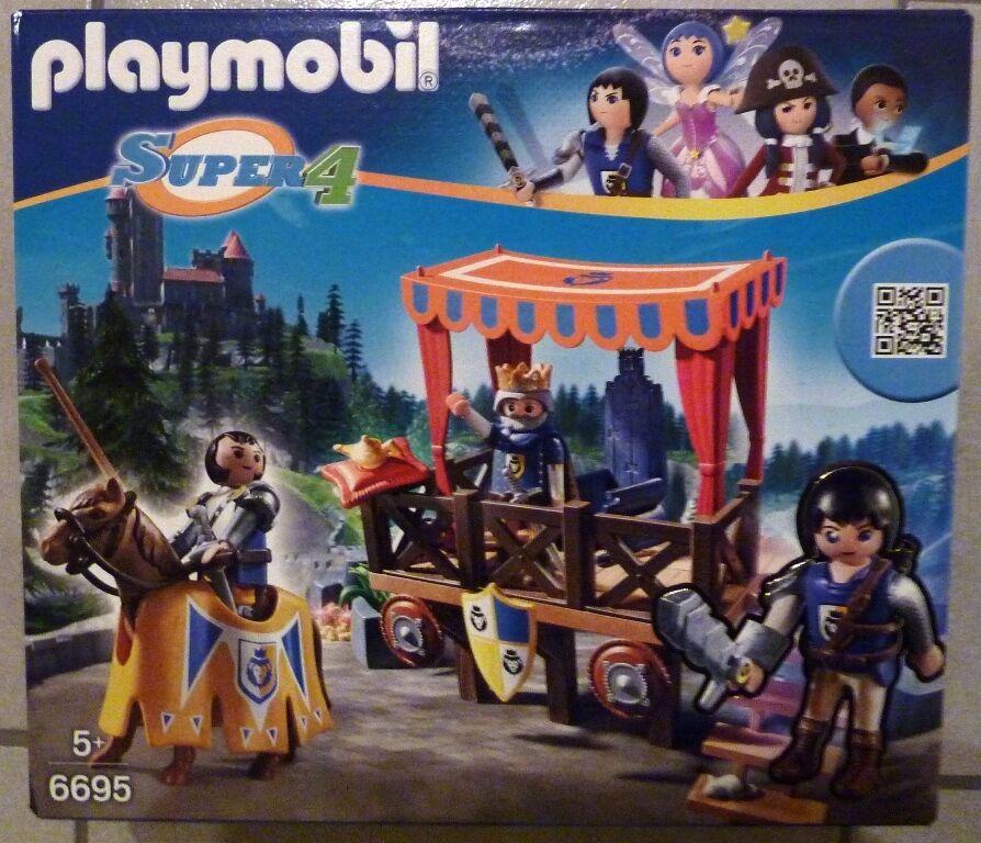 2 Sets von Playmobil® 6695 Super 4 Alex Königstribüne & 6687 Lost Island NEU OVP  | Überlegen