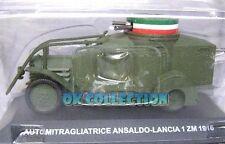 1:43 Carabinieri / Police - AUTOMITRAGLIATRICE ANSALDO-LANCIA 1 ZM - 1916 (30)