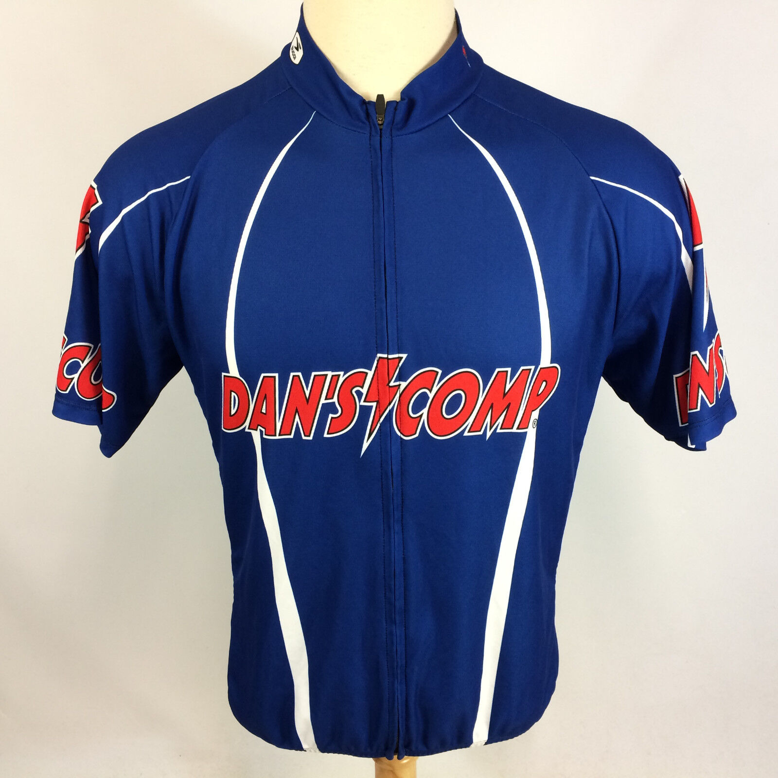 Vintage Dans Competition Cycling Racing Jersey Shirt Comp L