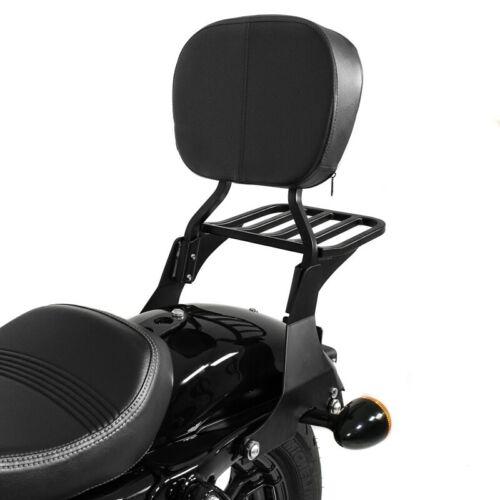 Je sais Bar avec rack et Kit Pour Harley Sportster Forty-Eight 48 SPECIAL 18-19 BLK