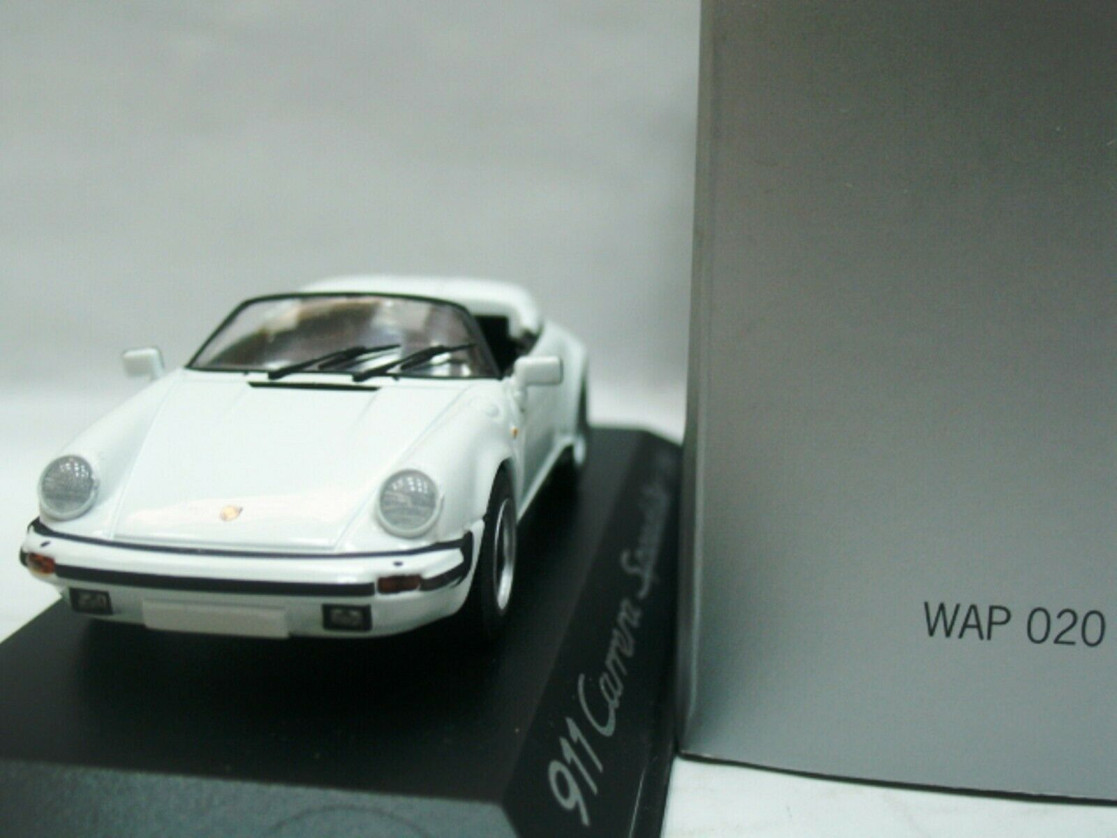 WOW  EXTREMELY RARE Porsche 930 1989 911 G-Model Speedster blanc 1 43 Minichamps  jusqu'à 70% de réduction