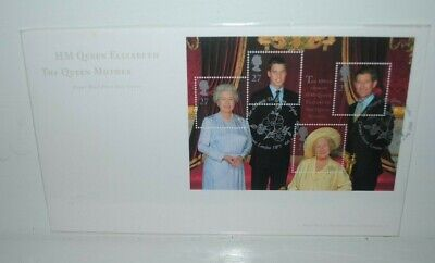 # 914 Great Britain Queen Mothers 80th Birthday Postage Stamp Original First Day Cover # 919 Cachet: GPO