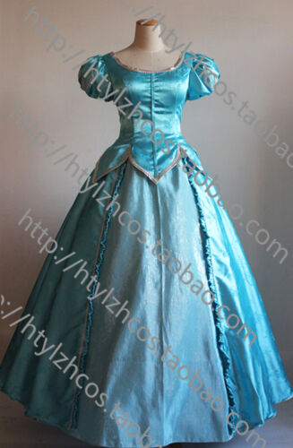 Princess Ariel Adult Costume The Little Mermaid Dress Comiket Party Ball Gown