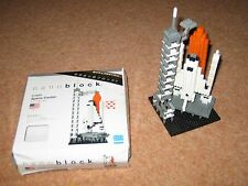 Nanoblock Space Shuttle & Launch Tower - Micro-sized Construction set from Japan