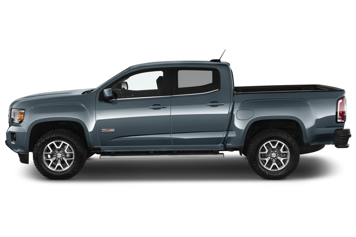 GMC Canyon side view