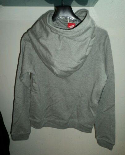 Grigio Felpa Tg Cappuccio Limited Donna M Edition Colore Alto Con Collo Nike Sdz4zq