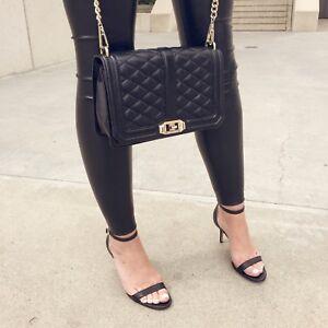 aa0e955a9f93 Sam Edelman Patti Ankle Strap Sandal black leather new in box 6.5 ...