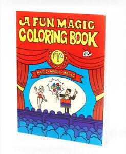 A4 Magic Trick Colouring Book Novelty Joke Present As Seen On ...