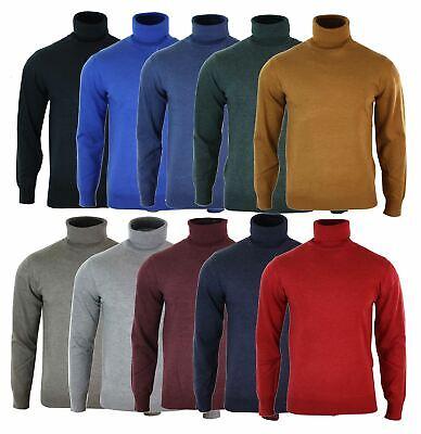 Men/'s Laine Mélangée Col V Pull Taille S-M-L-XL-2XL-3XL Sweater